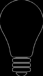Žárovka - znázorňující nápad