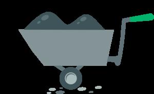 Kolečko - ikonka pro potřebný materiál